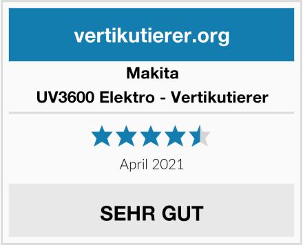 Makita UV3600 Elektro - Vertikutierer Test
