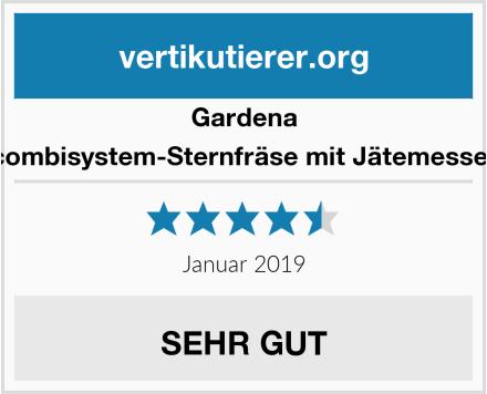 Gardena combisystem-Sternfräse mit Jätemesser Test