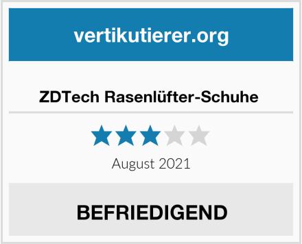 ZDTech Rasenlüfter-Schuhe  Test