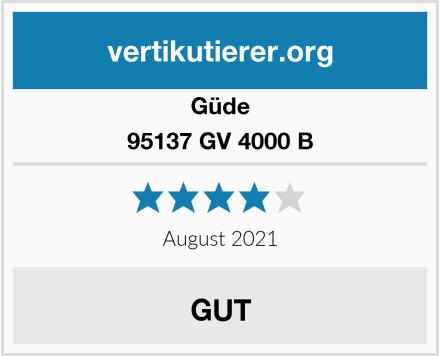 Güde 95137 GV 4000 B Test
