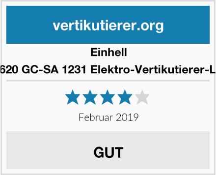 Einhell 3420620 GC-SA 1231 Elektro-Vertikutierer-Lüfter Test
