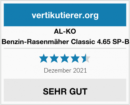 AL-KO Benzin-Rasenmäher Classic 4.65 SP-B Test