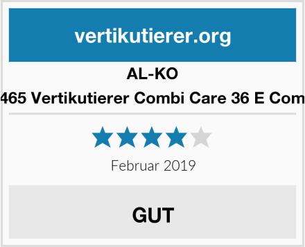 AL-KO 113465 Vertikutierer Combi Care 36 E Comfort Test