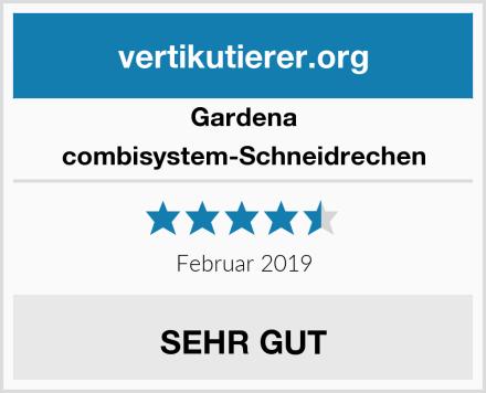 Gardena combisystem-Schneidrechen Test