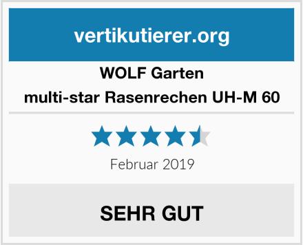 WOLF Garten multi-star Rasenrechen UH-M 60 Test