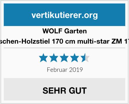 WOLF Garten Eschen-Holzstiel 170 cm multi-star ZM 170 Test