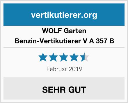 WOLF Garten Benzin-Vertikutierer V A 357 B Test