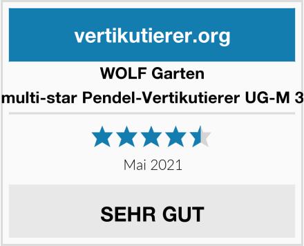 WOLF Garten multi-star Pendel-Vertikutierer UG-M 3 Test