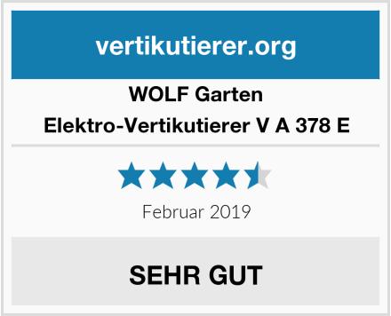 WOLF Garten Elektro-Vertikutierer V A 378 E Test