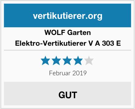 WOLF Garten Elektro-Vertikutierer V A 303 E Test