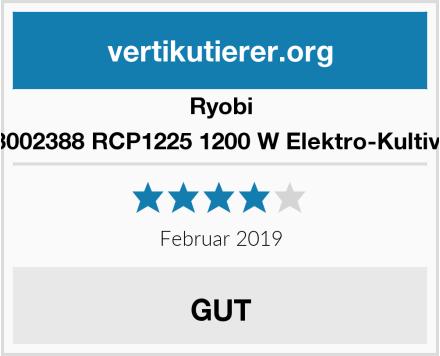 Ryobi 5133002388 RCP1225 1200 W Elektro-Kultivator Test