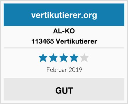 AL-KO 113465 Vertikutierer Test