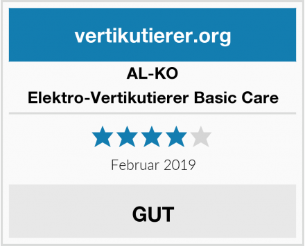 AL-KO Elektro-Vertikutierer Basic Care Test