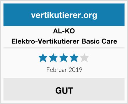 AL-KO Elektro-Vertikutierer Basic Care Test