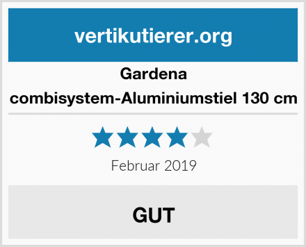 Gardena combisystem-Aluminiumstiel 130 cm Test