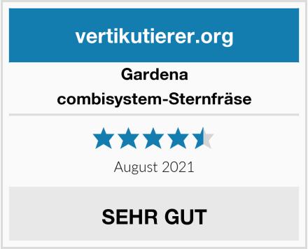 Gardena combisystem-Sternfräse Test