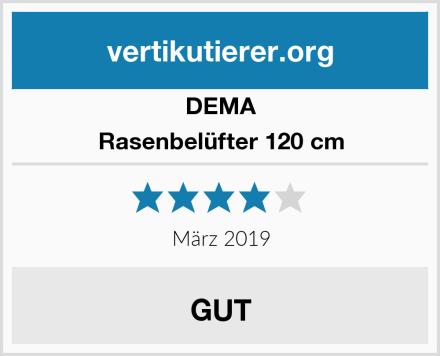 DEMA Rasenbelüfter 120 cm Test