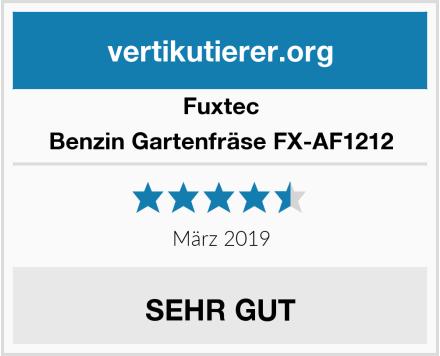 Fuxtec Benzin Gartenfräse FX-AF1212 Test