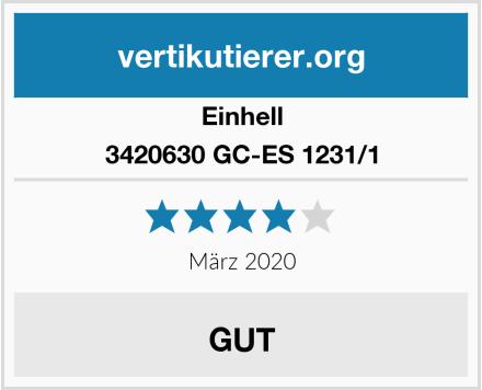 Einhell 3420630 GC-ES 1231/1 Test