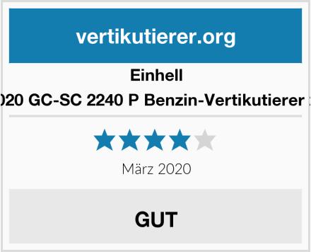 Einhell 3420020 GC-SC 2240 P Benzin-Vertikutierer 2.2 W Test