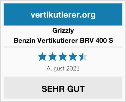 Grizzly Benzin Vertikutierer BRV 400 S Test