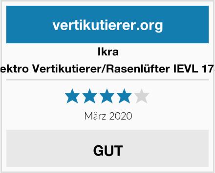 Ikra Elektro Vertikutierer/Rasenlüfter IEVL 1738 Test