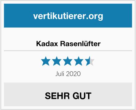 Kadax Rasenlüfter Test