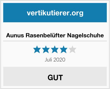 Aunus Rasenbelüfter Nagelschuhe Test
