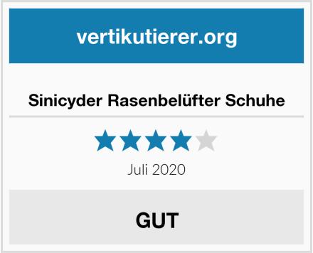 Sinicyder Rasenbelüfter Schuhe Test