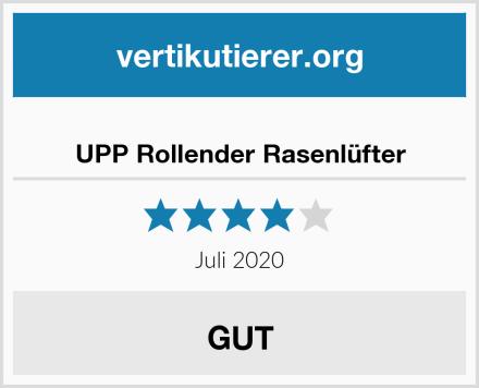 UPP Rollender Rasenlüfter Test