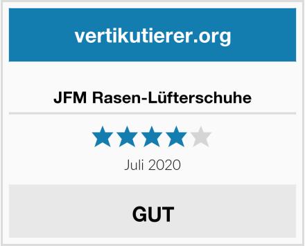 JFM Rasen-Lüfterschuhe Test