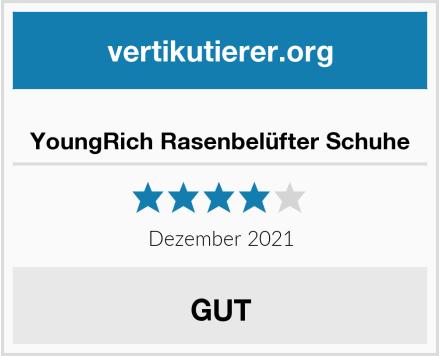 YoungRich Rasenbelüfter Schuhe Test