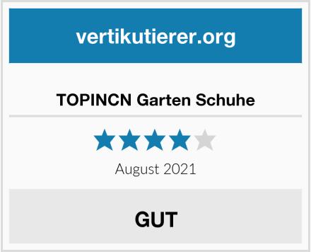 TOPINCN Garten Schuhe Test