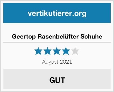 Geertop Rasenbelüfter Schuhe Test