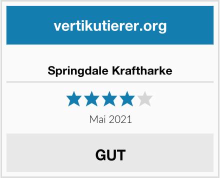 Springdale Kraftharke Test