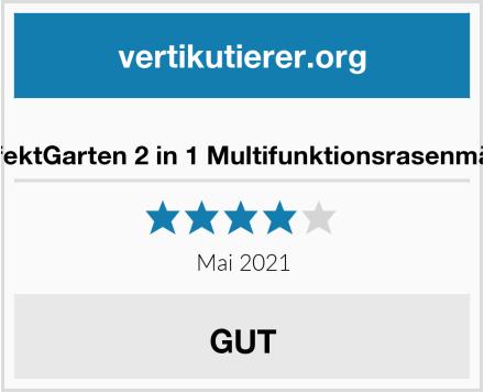 perfektGarten 2 in 1 Multifunktionsrasenmäher Test