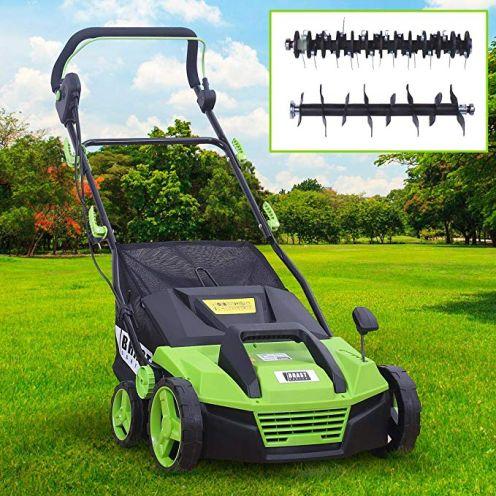 Brast Elektro Vertikutierer Rasenlüfter