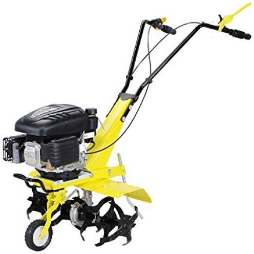Craftfull Benzin Gartenfräse 139cc 4-Takt Motor